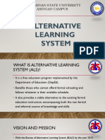 Alternative Learning System 1