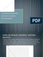 7. Contaminantes Físicos Por Ruido-operaciones Con Niveles de Ruido