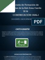 Comunicacion Oral I