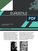 Eurostile y merriweather