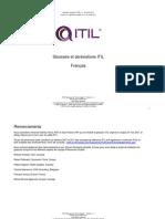ITIL 2011 Glossary FR-V1-1