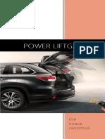Honda Crosstour Power Liftgate