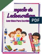 PROYECTO DE LECTOESCRITURA LEER BIEN PARA ESCRIBIR MEJOR-ME.pdf