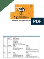 Programação Oficial 12ª Mostra Cinema e Direitos Humanos Em Aracaju