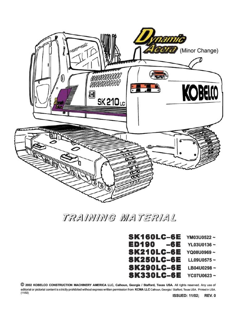 Kobelco Wiring Diagram Sk21 - Engine Wiring Diagram on