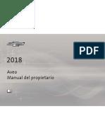 Chevrolet Aveo 2018 Manual