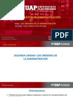 2 Unidad Los Orígenes de La Administración Fund de Administracion