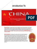 Introduction to China