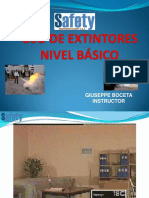 PPT EXTINTORES 2016