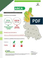 Cajamarca - Cobertura y Perdida de Bosques 2016