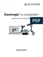Geomagic for Solidworks WhatsNew 2017.0.0