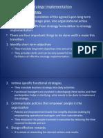 24085211 Strategic Management Strategic Implementation