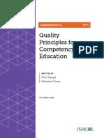 Quality Principles Book
