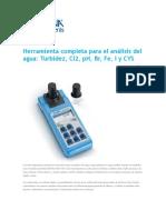 medidor integrado ph