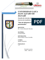 Trabajo via Parenteral y Enteral