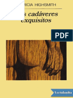 Los Cadaveres Exquisitos - Patricia Highsmith