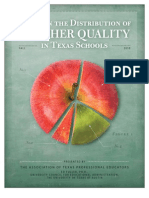 ATPE 2010 Teacher Quality Study