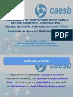 Apresentação Economia de Água