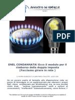 Modulo Risarcimento Enel Gas