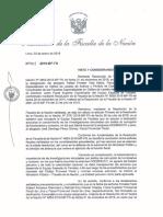 Pedro Chávarry retrocedió en decisión sobre Rafael Vela y José Domingo Pérez