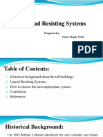 Lateral Load Resisting Systems