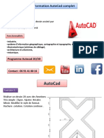 Formation Autocad Support