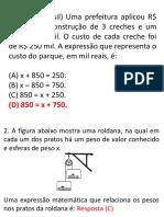 Atividade - Equações e Inequações 8a