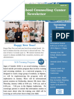 january 2019- newsletter