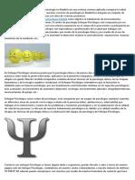 Psicólogos deportivos Madrid