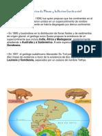 La Teoría de La Tectónica de Placas y La Deriva Continental