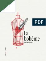 Programa Opera La-boheme 2018 Teatro Colon