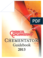 Chemical Engineering Chementator Guidebook - 2013