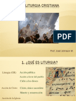 1. La Liturgia Cristiana