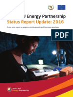 Africa - EU Energy Partnership 2016 report