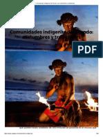 Comunidades Indígenas Del Mundo, Sus Costumbres y Tradiciones.