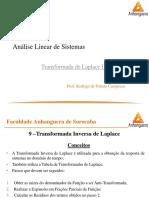 01_05 - Controle e Servomecanismos - Transformada de Laplace IV