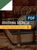 Doutrina Secreta 5 - Caridade Sentido Profundo