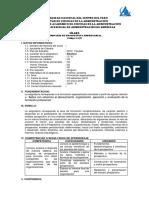 607E Silabo de Prospectiva Empresarial 2018 II