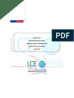 LCE LIBRO DE CLASES ELECTRÓNICO SENCE Administración de Cursos