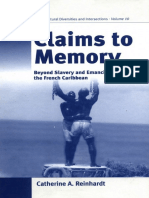 [Polygons 10] Catherine A. Reinhardt - Claims to Memory_ Beyond Slavery and Emancipation in the French Caribbean (Polygons)   (2006, Berghahn Books).pdf