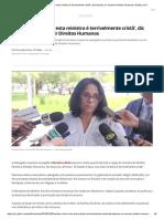 'Estado é Laico, Mas Esta Ministra é Terrivelmente Cristã', Diz Damares Ao Assumir Direitos Humanos _ Política _ G1