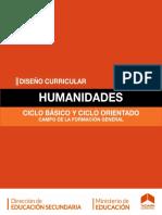 Diseño Curricular Humanidades