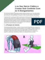 Mantenha Os Seu Nervo Ciático e Dores Nas Costas Sob Controle Com Esses 6 Alongamentos