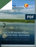 Guía de Plantas Útiles Del Pantanal Boliviano