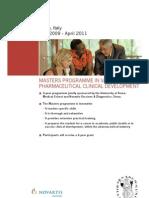 Vaccinology Masters Programme Brochure Final