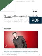 Si Recargar Un iPhone Nos Quitase 10 Minutos de Vida, Lo Haríamos