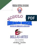 Mod. de Musica Para Bellas Artes