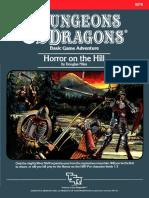 B5 - Horror on the Hill (TSR9078)