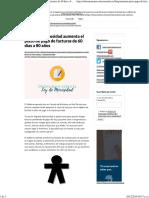 La Ley de Morosidad Aumenta El Plazo de Pago de Facturas de 60 Días a 80 Años - Infoautónomos