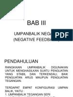 Bab III Umpanbalik